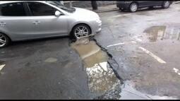 Telespectador acusa Cedae de deixar cratera em rua de Botafogo