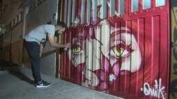 W3 está ganhando cores com o trabalho de grafiteiros