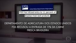 Decisão americana de bloquear carne brasileira provoca reações nos EUA e outros países