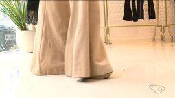 Tá na Moda: calça 'boca de sino' volta à moda e faz sucesso entre as mulheres