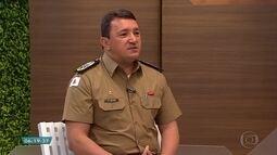 Comandante-geral da Polícia Militar fala sobre segurança pública em Minas Gerais