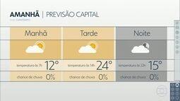 Confira a previsão do tempo para a terça-feira (27) em São Paulo
