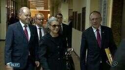 Ministra Cármen Lúcia visita presídios do ES