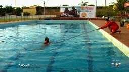 Bombeiros lança operação para prevenir afogamentos durante as férias, em Goiás