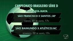 CBF define datas para os primeiros jogos da fase do 'mata-mata' do brasileirão