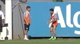 Kayke e Lucas Lima estão confirmados para duelo contra o Flamengo