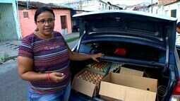 Venda de ovos se destaca como emprego informal em Aracaju