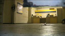 Bandidos explodem cofre de agência dos Correios em Lagoa Seca