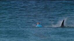 Aconteceu em J-Bay: tubarão ataca Mick Fanning