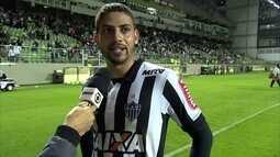 """""""Difícil explicar"""", diz Gabriel após derrota do Atlético-MG para o Bahia"""