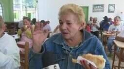 Grupo leva alegria para Lar dos Vicentinos no Dia da Caridade