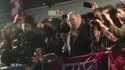 Simpatizantes do PT organizam ato de apoio ao ex-presidente Lula