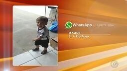 Telespectadores enviam fotos para mostrar as férias da criançada