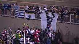 Os gols de Ponte Preta 0 (1) x (3) 0 Atlético-MG pelas quartas de final da Taça BH Sub-17