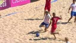 Os gols de Portugal 3 x 1 Rússia pelo Mundialito de Futebol de Areia