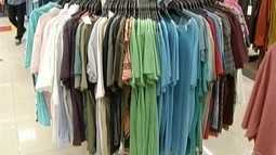 Setor de vestuário está com preços em queda