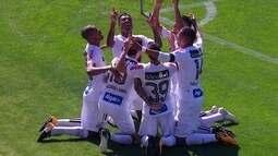 Os gols de Santos 3 x 0 Bahia pela 16ª rodada do Brasileirão 2017