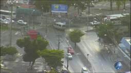Veja imagens do trânsito no Cabula e nas avenidas Paralela e ACM