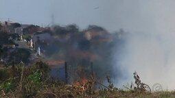 Corpo de Bombeiros registra queimadas na região de Itapetininga