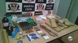 Polícia Civil fecha marcenaria usada como ponto de venda de drogas em Sertãozinho, SP