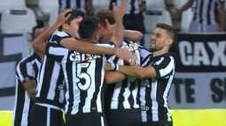 Os gols de Botafogo 3 x 0 Atlético-MG pelas quartas de final da Copa do Brasil
