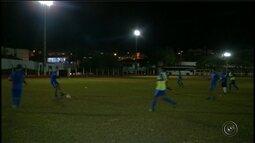 Itararé treina à noite e simula condições de jogo contra o Osasco FC pela Segundona