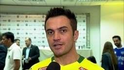 Falcão fala sobre função dentro e fora de quadra na seleção brasileira de futsal