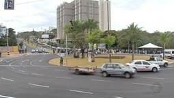Obra da rotatória da Via Park com avenida Mato Grosso é inaugurada em Campo Grande