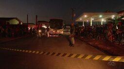 Mulher morre após ser atropelada por ônibus, na Zona Norte de Macapá