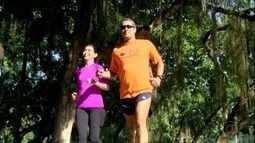 Meia maratona do Rio: guias-atletas auxiliam corredores nos treinos e na prova