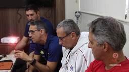 FLA TV - Técnicos do Time Flamengo vão visitar o Comitê Olímpico Americano