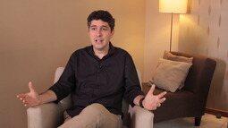 O psicólogo Alessandro Marimpietri explica papel da família e escola na construção social
