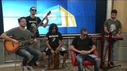 Banda The Purple se apresenta na 'Virada Cultural', em Linhares