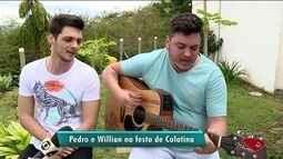 Show da dupla Pedro e Willian comemora aniversário de Colatina, ES