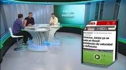 Vincius é manchete em jornais internacionais e Rizek compara com início de Neymar