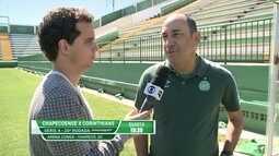 Técnico da Chapecoense fala sobre confronto contra o Corinthians pelo Brasileirão