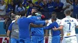 O gol e pênaltis de Cruzeiro 1 (3) x (2) 0 Grêmio pela semifinal da Copa do Brasil 2017