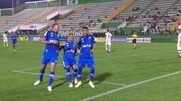 Os gols de Chapecoense 0 x 3 Cruzeiro pelo Campeonato Brasileiro sub-20