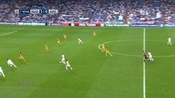 Impedido de novo! Cristiano Ronaldo toca para Mayorial, mas lance não vale aos 47 do 2º