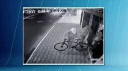 Polícia rocura por bandidos que arrombaram uma loja de bicicletas em Coronel Fabriciano