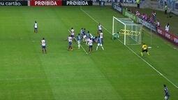 O gol de Cruzeiro 1 x 0 Bahia pela 24ª rodada do Brasileirão