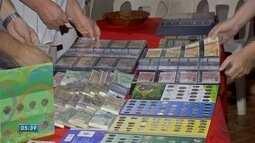 Colecionadores de moedas se reúnem em Campo Grande