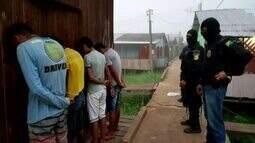 Operação prende seis pessoas em Cruzeiro do Sul