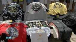 Produtos falsificados que são apreendidos não podem ser doados