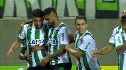 O gol de América-MG 1 x 0 Vila Nova pela 25ª rodada do Campeonato Brasileiro Série B