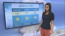 Veja a previsão do tempo para esta quinta-feira na região de Ribeirão Preto, SP