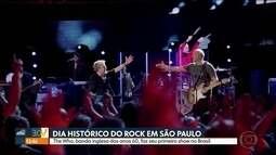Banda inglesa The Who se apresenta em SP nesta quinta-feira (21)