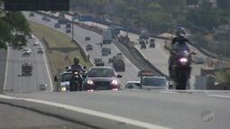 Acidentes com motocicletas são maioria em rodovias da região de Campinas