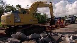 Começam obras para recuperar BR-101 no trecho que corta o Grande Recife