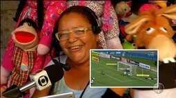 Para estimular clube, torcedores narram gols do ABC no quadro 'Olha o Gol'